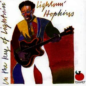 Albumcover Lightnin' Hopkins - In The Key Of Lightnin'