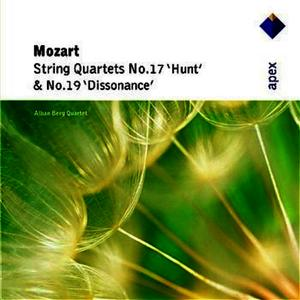 Mozart : String Quartets Nos 17, 'Hunt' & 19, 'Dissonance' (-  Apex)