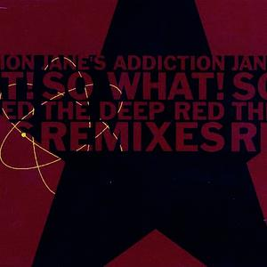 Albumcover Jane's Addiction - So What!  (EP)