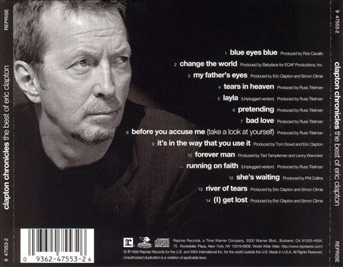 Eric Clapton - Clapton Chronicles: The Best Of Eric Clapton