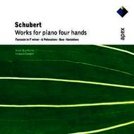 Anne Queffelec and Imogen Cooper - Schubert : Works for piano four hands (APEX)