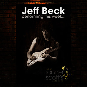 Albumcover Jeff Beck - performing this week...live at Ronnie Scott's
