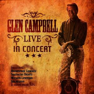 Albumcover Glen Campbell - Live In Concet