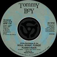 Albumcover Afrika Bambaata & The Soul Sonic Force - Planet Rock / Planet Rock [Instrumental] [Digital 45]