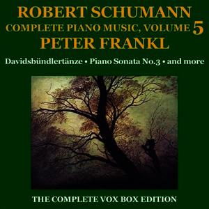 Albumcover Peter Frankl - Schumann: Piano Music (Complete), Volume V