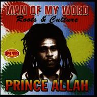 Albumcover Prince Allah - Man of My Word - Roots and Culture