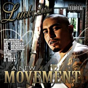 Albumcover Lucky Luciano - A New Movement