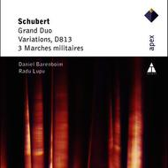 Daniel Barenboim & Radu Lupu - Schubert : Grand Duo, Variations D813, Marches militaires - piano duet