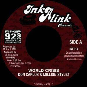 Albumcover Million Stylez, Don Carlos - World Crisis