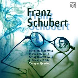 Albumcover Franz Schubert - String Quartet No.14 in D Minor, D.810 (Death and the Maiden),  String Quartet No.15 in G Major, D. 887, Op.posth.161