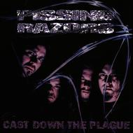 Albumcover Pissing Razors - Cast Down The Plague