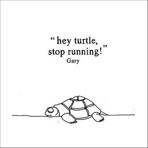 Hey Turtle, Stop Running!