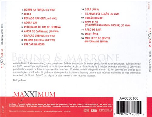 Bruno & Marrone - Maxximum - Bruno E Marrone