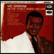 Albumcover Vic Damone - On the Street Where You Live