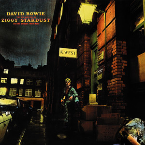 Albumcover David Bowie - The Rise and Fall of Ziggy Stardust and the Spiders from Mars