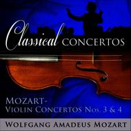 Christian Altenburger and Helmut Winschermann Conducting the German Bach Soloists - Classical Concertos - Mozart: Violin Concertos #3 and 4