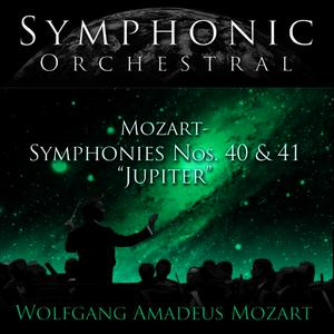 "Albumcover Hans Graf Conducting The Salzburg Mozateum Orchestra - Symphonic Orchestral - Mozart: Symphonies Nos. 40 and 41, ""Jupiter"""