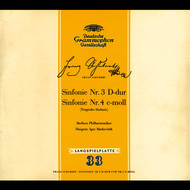 Igor Markevitch / Berliner Philharmoniker - Schubert: Symphonies Nos.3 & 4 (CD 5)