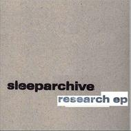 Albumcover sleeparchive - Research