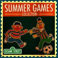 Albumcover Sesame Street - Summer Games Collection