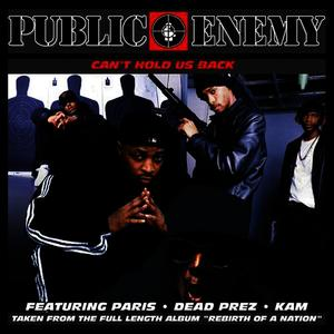 Albumcover Public Enemy - Can't Hold Us Back