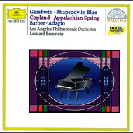 Albumcover Leonard Bernstein / Los Angeles Philharmonic - Gershwin: Rhapsody in Blue / Copland: Appalachian Spring / Barber: Adagio for Strings