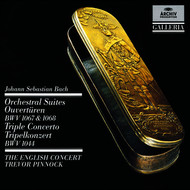 The English Concert / Lisa Beznosiuk / Trevor Pinnock / Simon Standage - Bach: Orchestral Suites (Overtures) BWV 1067 & 1068 / Triple Concerto
