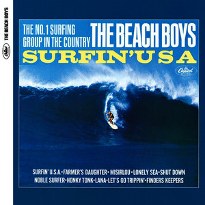 Albumcover The Beach Boys - Surfin' USA