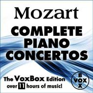 Albumcover Alfred Brendel, Walter Klien, Peter Frankl, Ingrid Haebler & Martin Galling - MOZART: Complete Solo Piano Concertos (The VoxBox Edition)