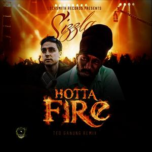 Albumcover Sizzla - Hotta Fire (Ted Ganung Remix)