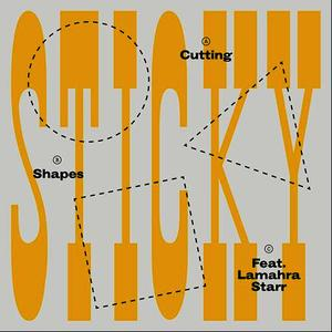 Albumcover Sticky - Cutting Shapes