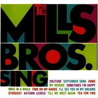 The Mills Bros. Sing