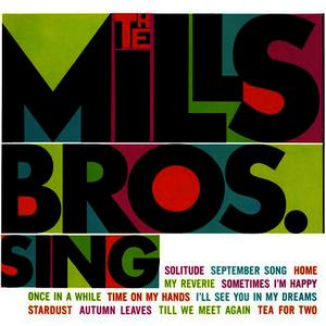 Albumcover Mills Brothers - The Mills Bros. Sing