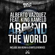 Albumcover Alberto Vazquez - Around the World (feat. King Xamelo) [Javi Reina, D'Antelo]
