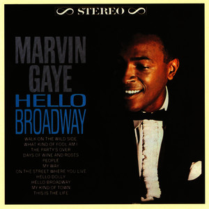 Albumcover Marvin Gaye - Hello Broadway
