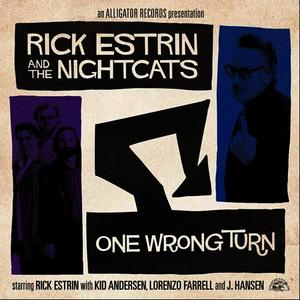 Albumcover Rick Estrin & The Nightcats - One Wrong Turn