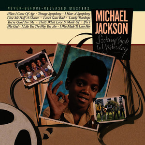 Albumcover Michael Jackson - Looking Back To Yesterday