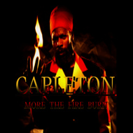 Albumcover Capleton - More the Fire Burn