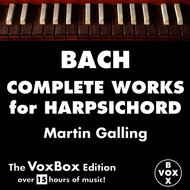 Albumcover Martin Galling - Bach: Complete Works for Harpsichord