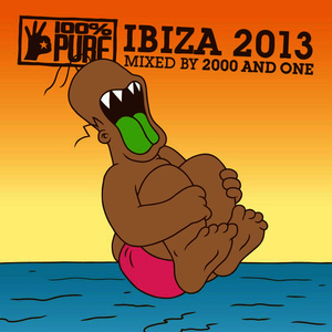 Albumcover 2000 And One - 100% Pure Ibiza 2013