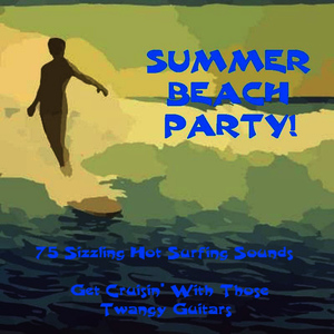 Albumcover The Beach Boys - Summer Beach Party! 75 Sizzling Hot Surfing Sounds. Get Cruisin' With Those Twangy Guitars