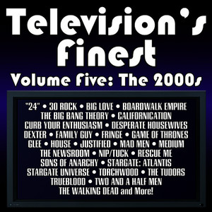 Albumcover Dominik Hauser - Television's Finest: Volume Five - The 2000's