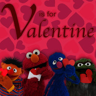 Sesame Street - V Is for Valentine