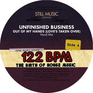 Albumcover Unfinished Business / Omni - Out Of My Hands (Love's Taken Over)
