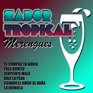 Albumcover Various Artists - Sabor Tropical - Merengues