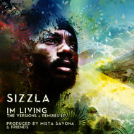 Albumcover Sizzla - I'm Living the Versions & Remixes