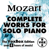Albumcover Walter Klien - Mozart: Complete Works for Solo Piano (The VoxBox Edition)