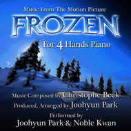 Joohyun Park - Frozen (For 4 Hands Piano from the Motion Picture)
