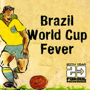 Albumcover Various Artists - Brazil World Cup Fever