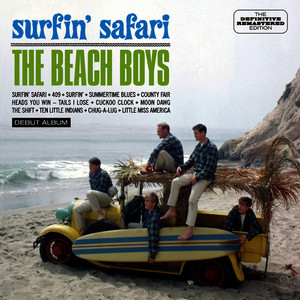 Albumcover The Beach Boys - Surfin' Safari. Debut Album (Stereo / Mono Mix) [Bonus Track Version]